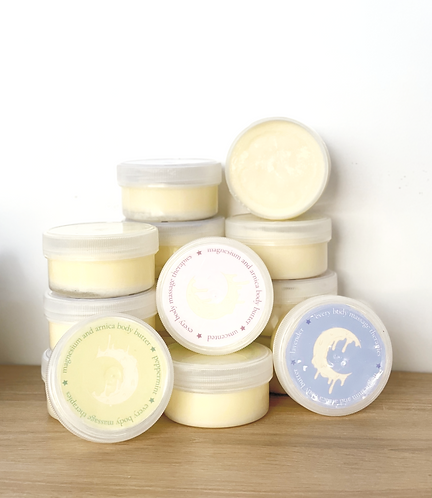 Body Butter: Magnesium and Arnica