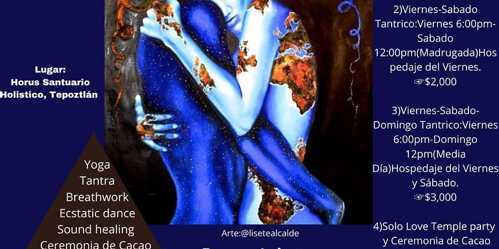 SÁBADO TANTRICO CONECTÁNDOTE CON TUS 3 CUERPOS: MENTE, CUERPO Y ESPÍRITU USANDO TANTRA (Sexualidad Sagrada)