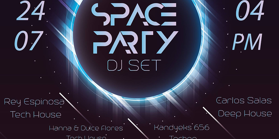 SPACE PARTY DJ SET