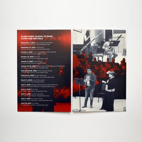 Glenn Korff School of Music Camps & Festivals Brochure