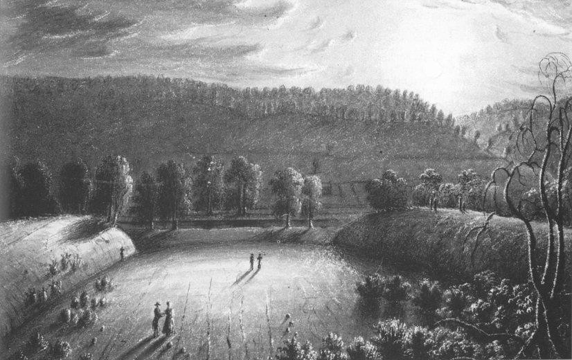 Sacra Via, illustration by Charles Sullivan