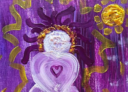 Goddess Painting at Winter Retreat