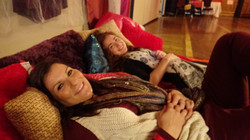 Relaxing at the Winter Retreat