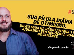 Diego Maia de volta a Antena 1