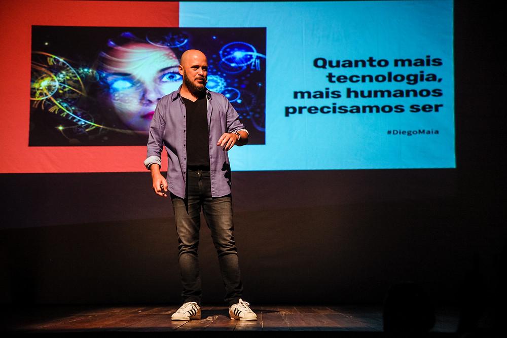 Palestra motivacional de Vendas Diego Maia