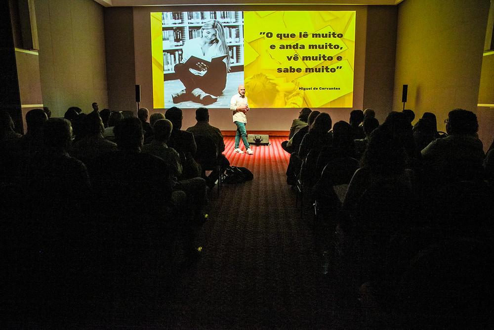 Palestra motivacional de vendas no Rio de Janeiro com Diego Maia