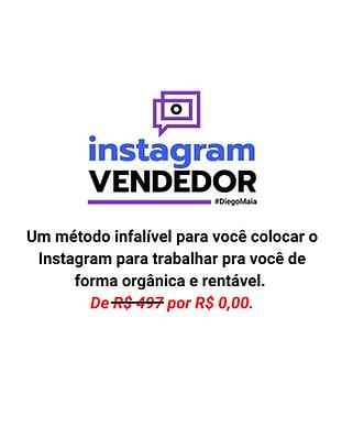 Curso Instagram Vendedor com Diego Maia Gratuito na Academia de Vendas