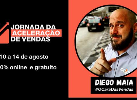 Treinamento de Vendas Gratuito com Diego Maia!
