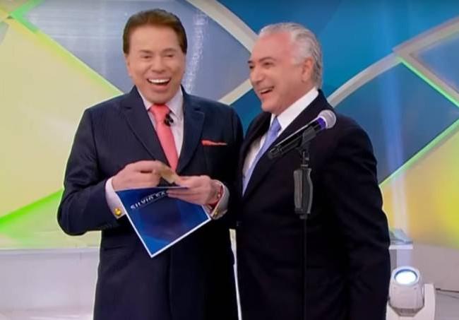 SILVIO SANTOS E MICHEL TEMER - BORA VOAR