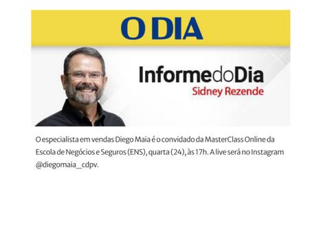 ENS contrata Diego Maia para um grande encontro online com Corretores de Seguros