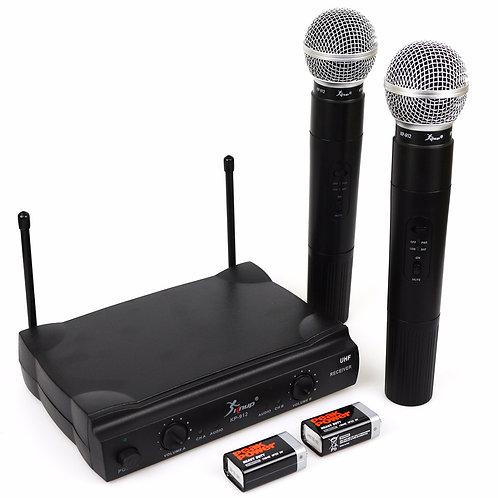 Microfone sem fio - diária