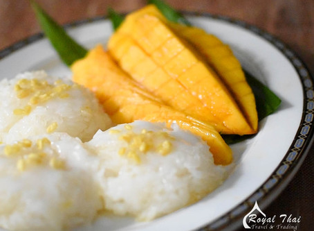Thai Mango Sticky rice | Thai Recipes | Stay Home series