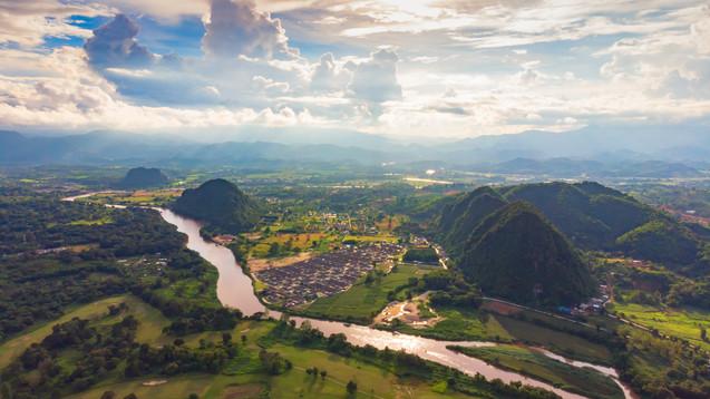 Chiang Rai City Lanscape