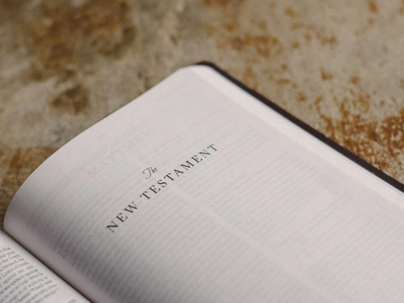 This is the beginning of the New Testament (N.T.) which begins the New Covenant.