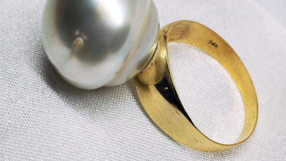 Pre-Order 16+ mm SSP White Ring