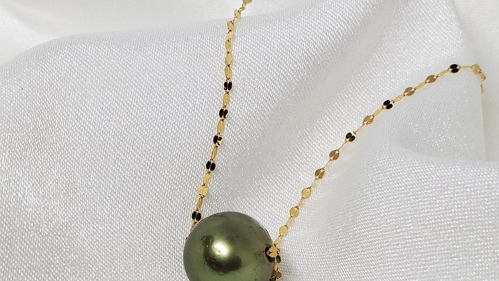 Pistachio Slider Necklace