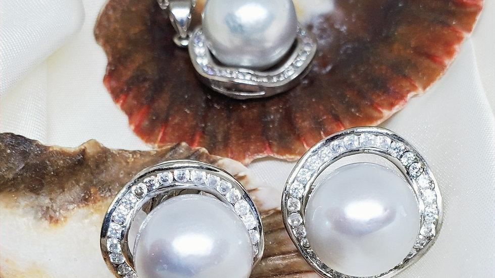 Silver White Set