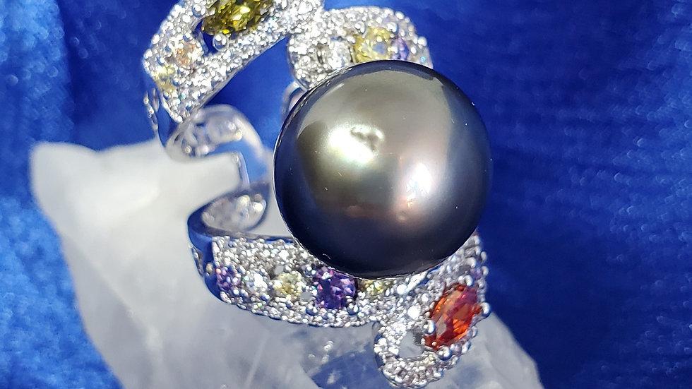 Fancy Grayish Black RING