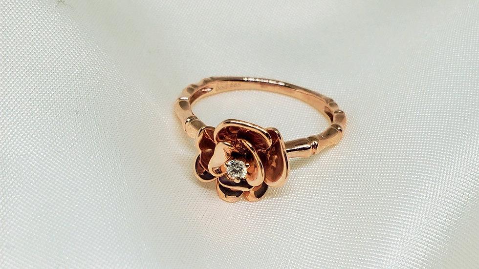 Exquisite Flower Ring