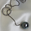 Thumbnail: Chic Gray Lariat Necklace