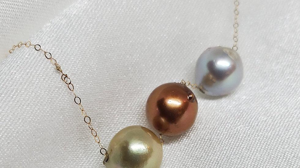 Multicolor Slider Necklace