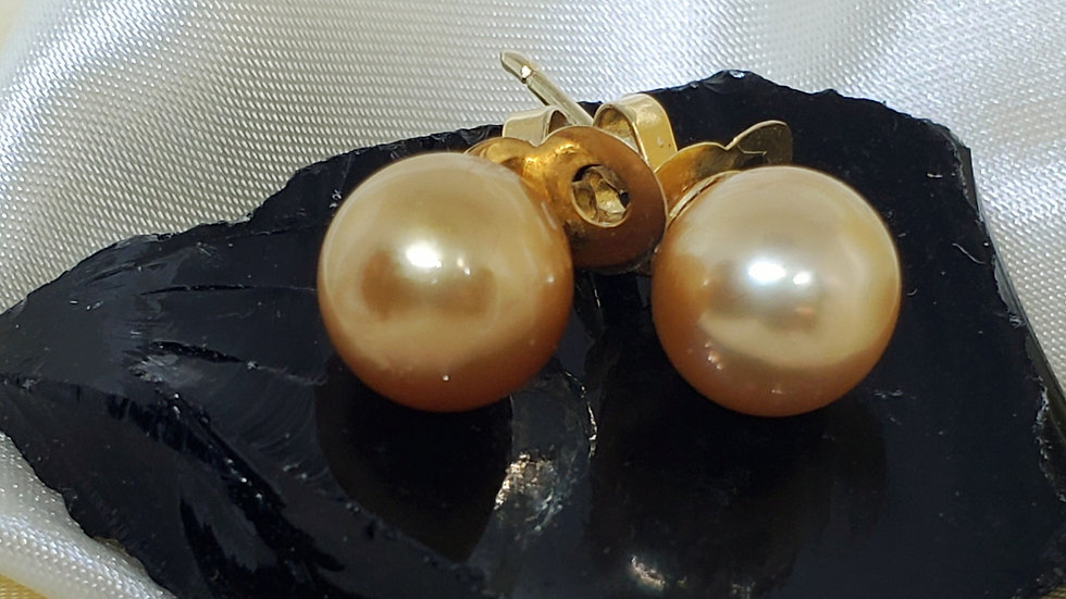 Deep Golden Earrings