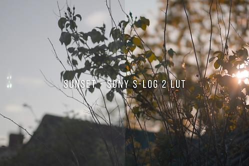Sunset - Sony S-Log 2 LUT