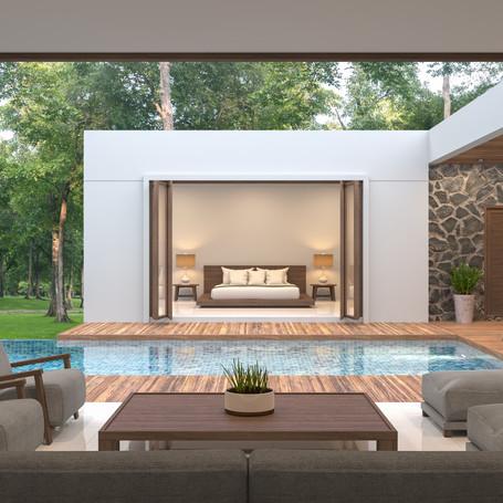 Acreage Dream pool & outdoor living