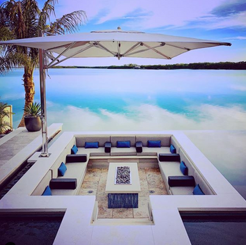 Luxury Pools Sunken Lounge