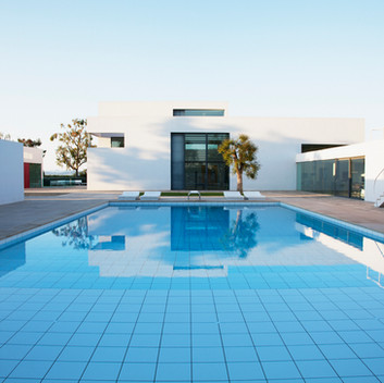 Luxury Pools Full Tiled Pool