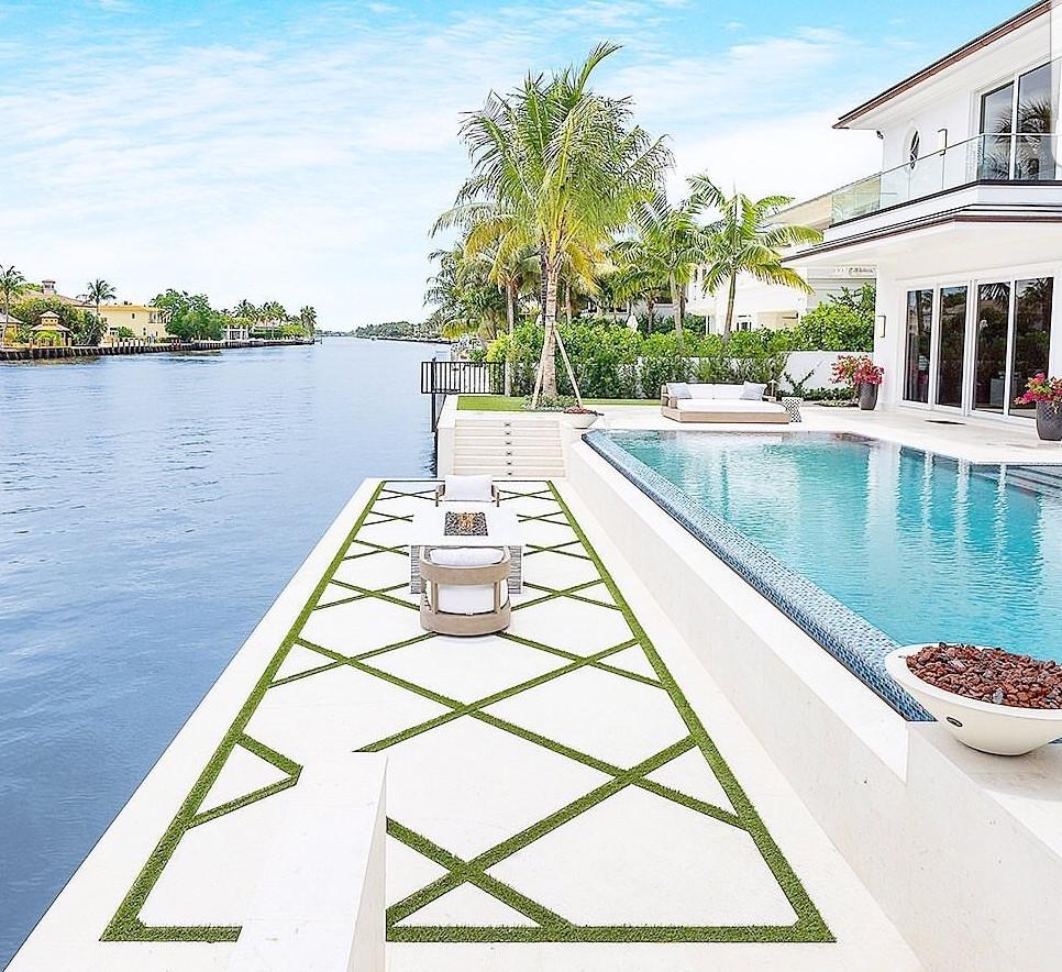 concrete pools, custom pools, entertainment area