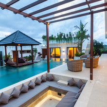 WOW private area swimming pool and enter