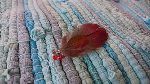 Macaw Feathers Charm