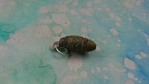 Barrel Handmade Clay charm