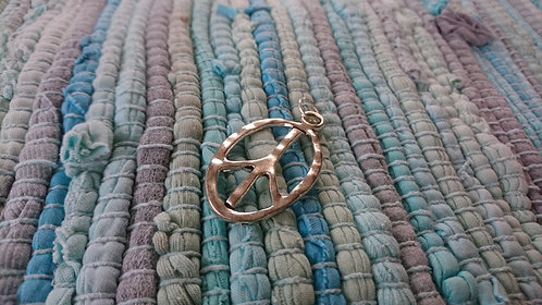 Peace CND Silver charm Large