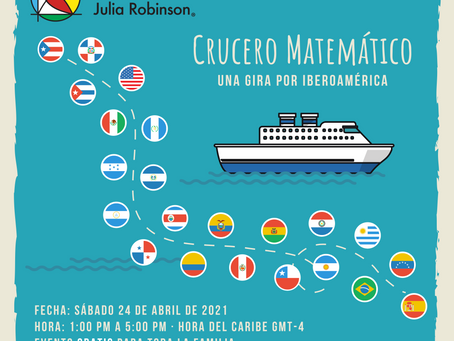 Thank you for joining our CRUCERO MATEMÁTICO!