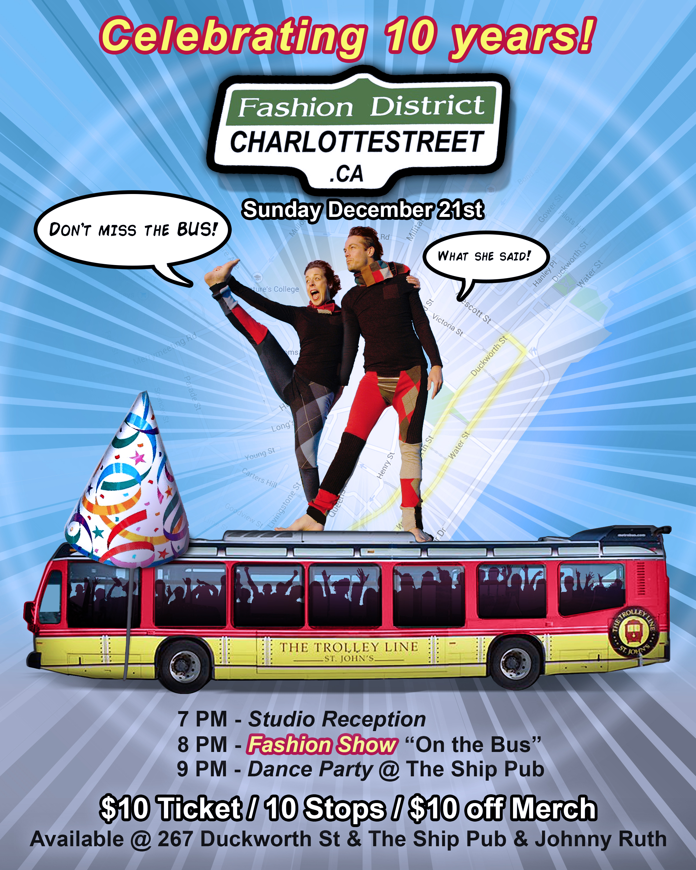 Don't Miss the Bus!!!