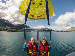 Sailing the skies above Queenstown