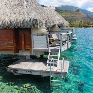 Staying in a Tahitian Overwater Bungalow