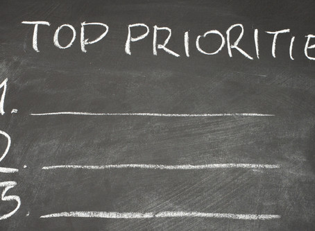 What are your Top Priorities?