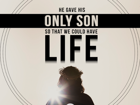 He gave His only Son