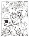 Empty Tomb and women - coloring page.jpg