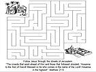 Triumphal Entry maze.JPG
