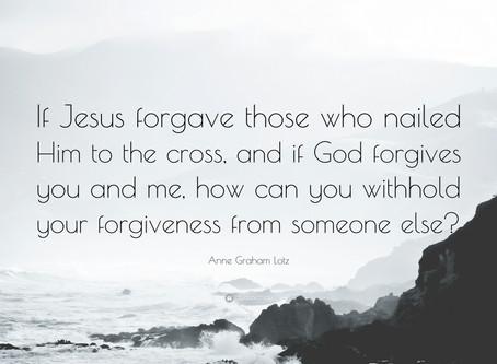 Forgiveness!