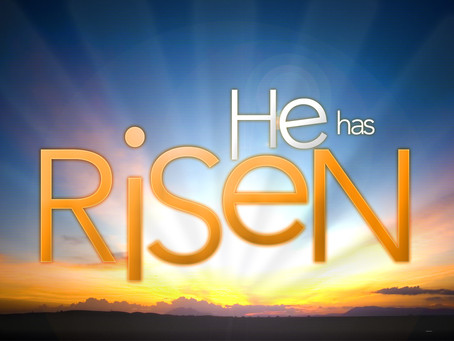The King is Risen!