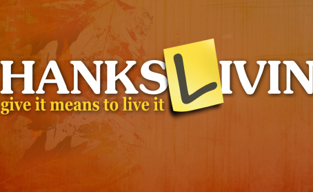 Happy Thanks-Living!