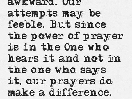 The One Who Hears the Prayer