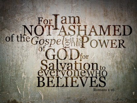The Fellowship of the Unashamed!
