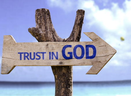 Keep your trust in the Lord!