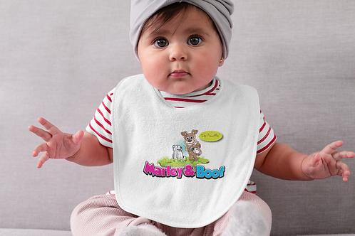 Marley &  Boof Babies Bib (Premium Its Pawriffic) Range